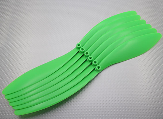 GWS Stile Elica 14x10 Verde (CCW) (6pcs)