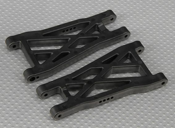 Posteriore inferiore braccio di sospensione (L / R) 1/10 Turnigy Stadio Re 2WD Truggy