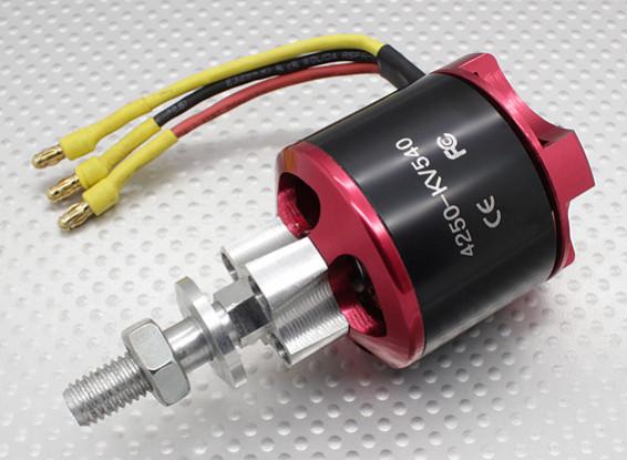 Brushless Outrunner 4250 540Kv con elica Adapter