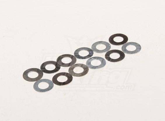 Rondella A 5.2x10x0.2mm (12pcs / bag) - Turnigy Trailblazer 1/8, XB e XT