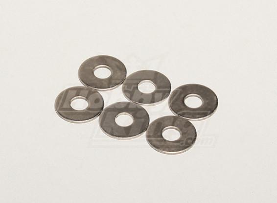 Rondella 19x1x6mm (6pcs / bag) - Turnigy Titan 1/5