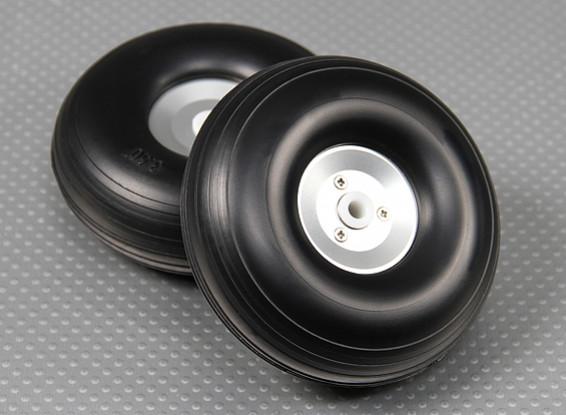 90 millimetri (3,5 pollici) Leggero Lega Scala insieme ruota (2pc)