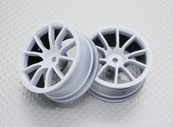 Scala 1:10 di alta qualità Touring / Drift Wheels RC 12 millimetri Hex (2pc) CR-12CW