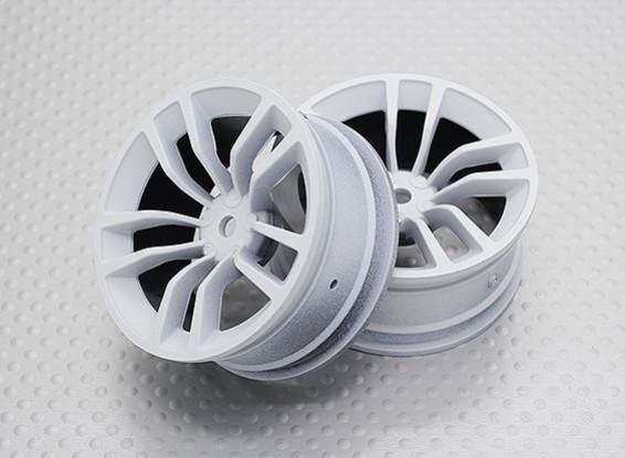 Scala 1:10 di alta qualità Touring / Drift Wheels RC 12 millimetri Hex (2pc) CR-dbsw