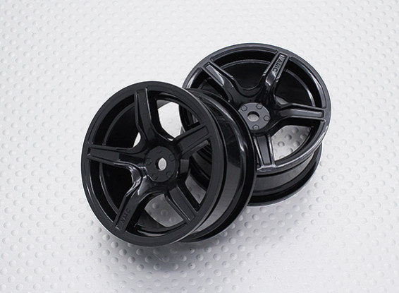 Scala 1:10 di alta qualità Touring / Drift Wheels RC 12 millimetri Hex (2pc) CR-C63NB