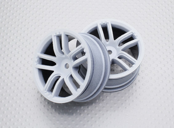 Scala 1:10 di alta qualità Touring / Drift Wheels RC 12 millimetri Hex (2pc) CR-GTW