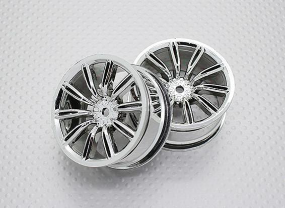 Scala 1:10 di alta qualità Touring / Drift Wheels RC 12 millimetri Hex (2pc) CR-VIRAGEC