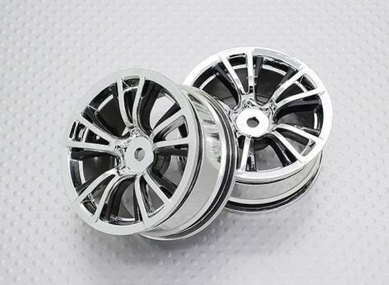 Scala 1:10 di alta qualità Touring / Drift Wheels RC 12 millimetri Hex (2pc) CR-BRB