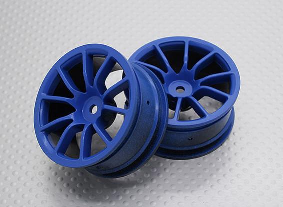 Scala 1:10 di alta qualità Touring / Drift Wheels RC 12 millimetri Hex (2pc) CR-12CSB