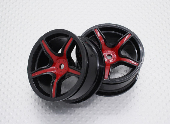 Scala 1:10 di alta qualità Touring / Drift Wheels RC 12 millimetri Hex (2pc) CR-C63SR