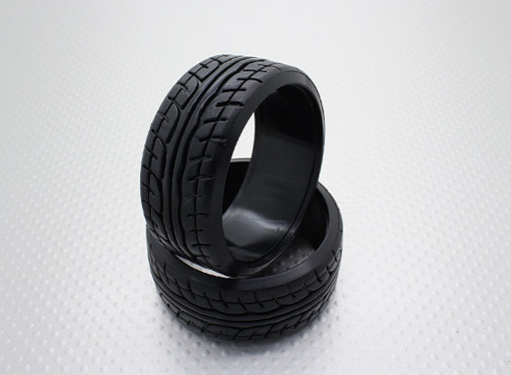 Scala 1:10 Compound plastica dura CR-JP Drift Gomme (2 pezzi)