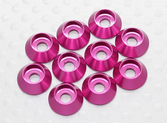 Sockethead Rondella alluminio anodizzato M3 (Cherry Red) (10pcs)
