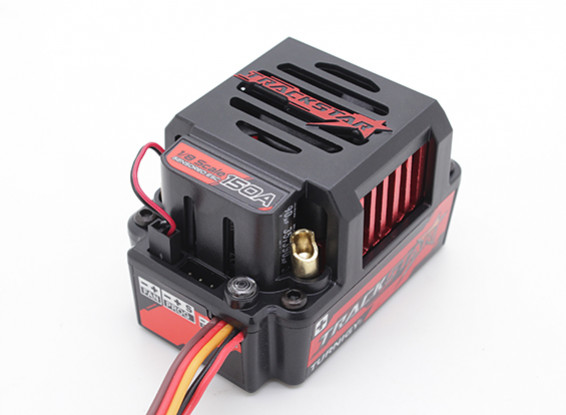 Trackstar 150A GenII 1 / 8th scala Sensored Brushless auto ESC - (PC programmabile)