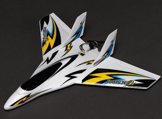 Parkjet 2 ad alta velocità ala con 3 assi Volo Stabilizzatore EPO 550 millimetri (PNF)