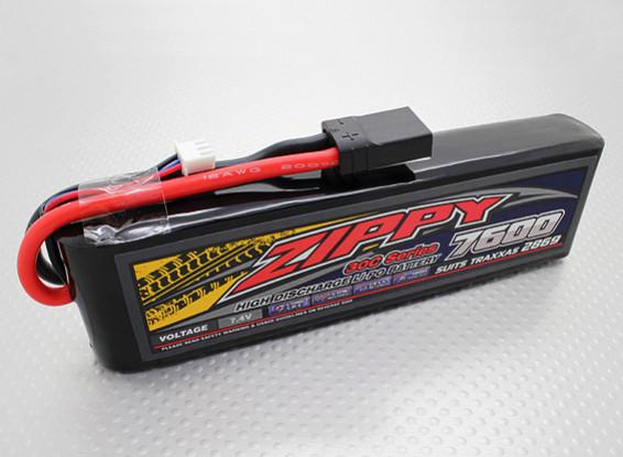 ZIPPY Traxxas compatibile 7600mAh 2S1P 30C Lipo Pack (Abiti TRA2869)