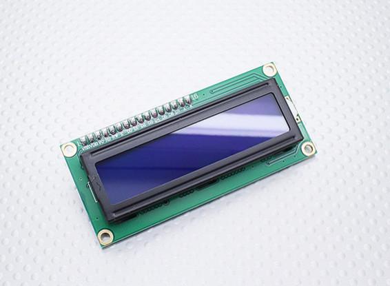 Kingduino IIC / I2C modulo LCD 1602 dello schermo blu