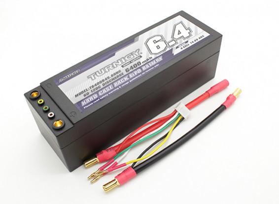 Turnigy 6400mAh 14.8V 60C 4S Hardcase Pack (cavi rimovibili)