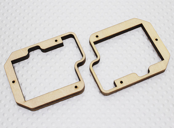 Turnigy Ply Monte Servo per Slim Ala Servo - TGY-S712G (2pc)
