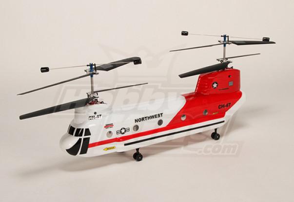 38 # Walkera CH-47 Chinook BIG-2.4GHz elicottero B & F