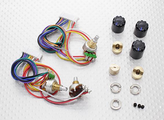 Potentiameter (rotonda Pot) - Turnigy 9XR trasmettitore (3set)