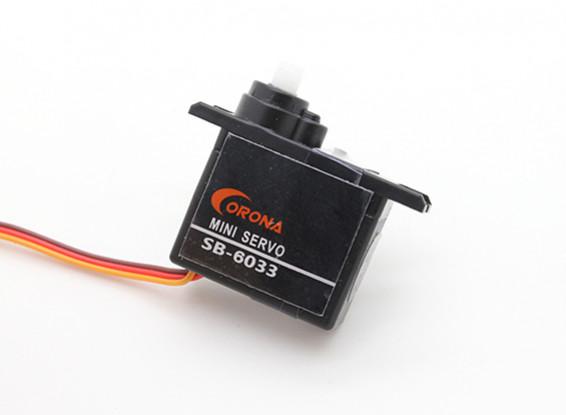 Corona SB-6033 S.Bus digitale micro servo 0.95kg / 0.10sec / 6.2g