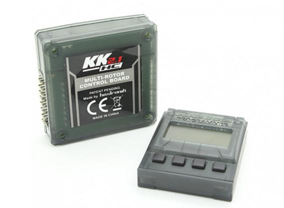 Dipartimento Funzione Pubblica KK2.1HC multi-rotore Cassa Control Board Flight duro con Remote Programmer