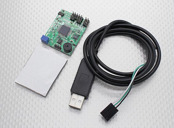 X-Cam GSM110 2-AXIS Camera giunto cardanico sistema di stabilizzazione w / cavo USB