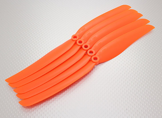 GWS Stile Elica 10x6 Orange (CCW) (5pcs)