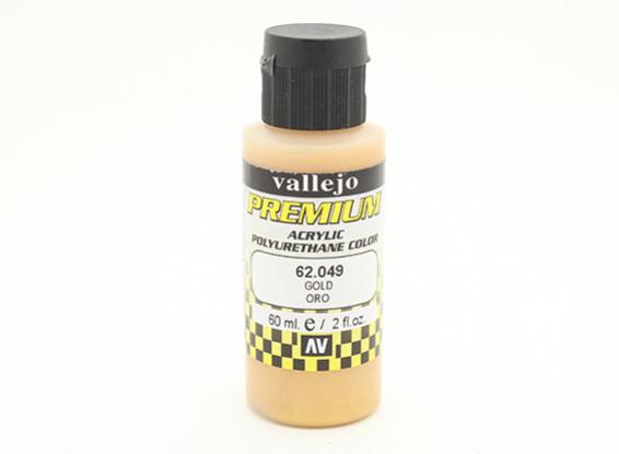 Vallejo Premium colore vernice acrilica - Gold (60ml)