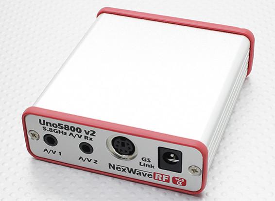 ImmersionRC UNO5800v2 5.8GHz ricevitore A / V w / GS-Link - doppia uscita