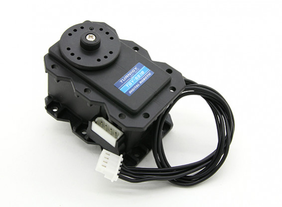 Turnigy TGY-S518 300 ° Digital Metal Gear Intelligent Robot Servo 17.3kg / 0.21Sec / 75g