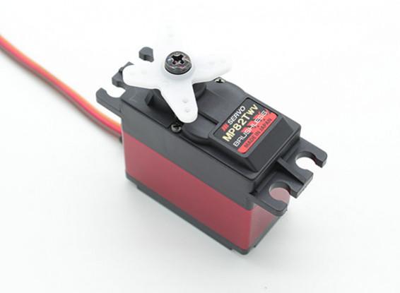 JR MP82TWV larga di tensione Ultra High Torque brushless servo con Metal Gears e dissipatore di calore