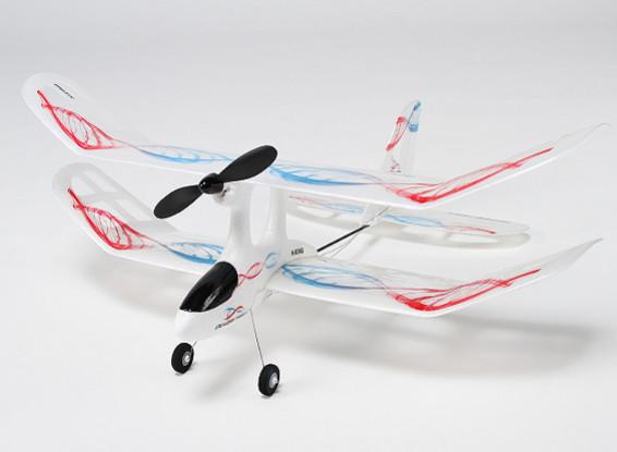 HobbyKing® ™ Double Helix Slowfly EPO 420 millimetri (RTF)