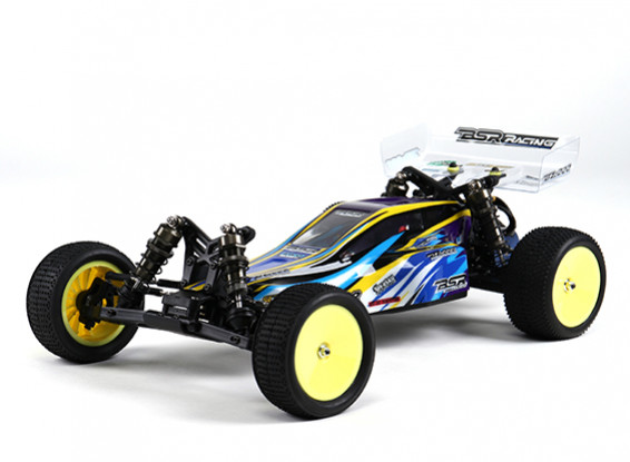 Basher BSR BZ-222 1/10 2WD Buggy corsa (Kit)