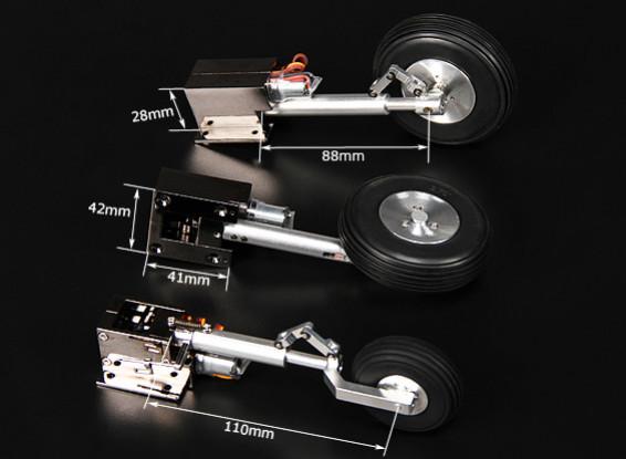 Turnigy Delux Full Metal Injection Lega Servoless retrazione (triciclo) T 34 Mentor