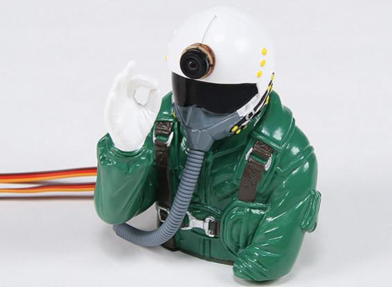 Dr. MadThrust Costruito in HD Cam Jet Pilot (H93 x L75 x D90mm)