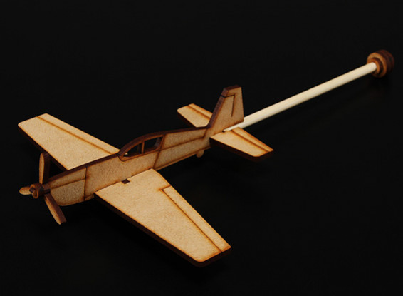 Extra 300 Pratica Stick Aereo Laser Cut Modello Wood (Kit)