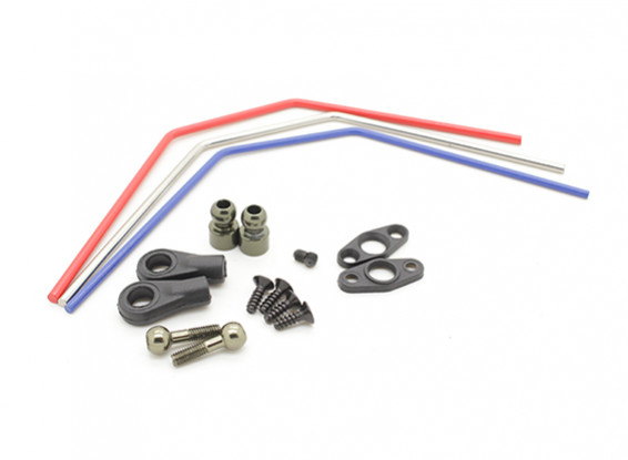 Basher Nitro Circus MT, Sabertooth Truggy - antirollio anteriore set bar