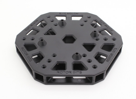 RotorBits HexCopter montaggio Center (nero)