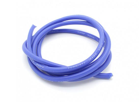 Turnigy Pure-silicone filo 12AWG 1m (Blu)