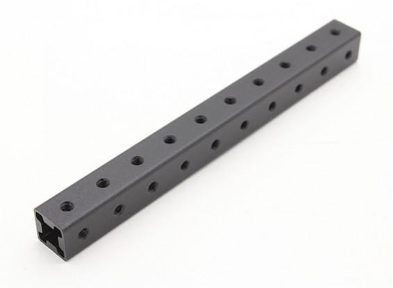 RotorBits Pre-Drilled alluminio anodizzato costruzione Profilo 100 millimetri (nero)