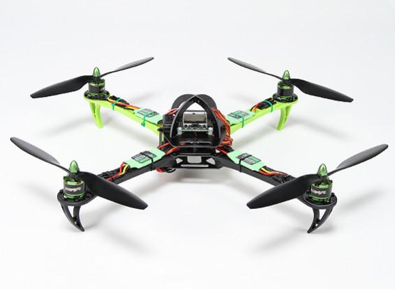 Turnigy SK450 Quadrirotore Powered By Multistar. Quadcopter & 5X Package (Modalità 2) (pronto a volare)