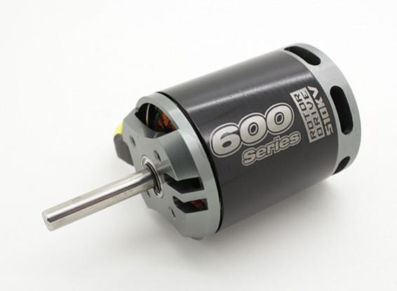 NTM rotore drive 600 Series 510KV / 5500W (600 / .50 formato Heli)