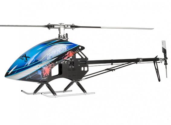 RJX X-treme 50 EP 600 Dimensioni elicottero Kit (versione Belt)