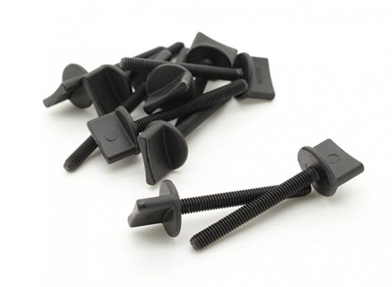 Nylon Thumbscrew Ala Bolt M4x35 (10pcs)
