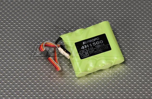 JR AA 1500mAh Receiver batteria Ni-MH 4.8V (New Version)