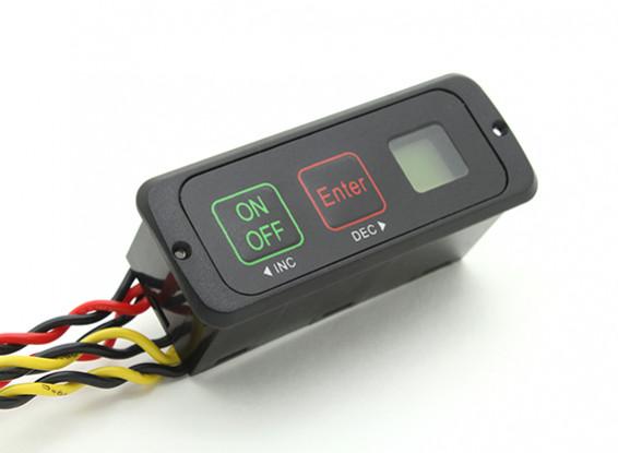 Heavy Duty batteria doppia Intelliswitch con la batteria del monitor LCD
