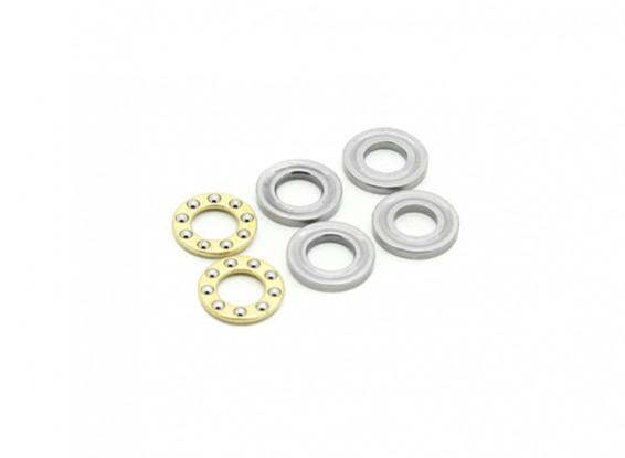 RJX X-TRON 500 5 x 10 x 4 mm cuscinetti di spinta # XT90-9003 (2 pezzi)