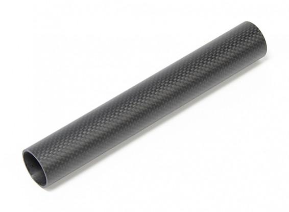 30 x 27 x 200 mm in fibra di carbonio Tube (3K) tessuto normale Matt Finish
