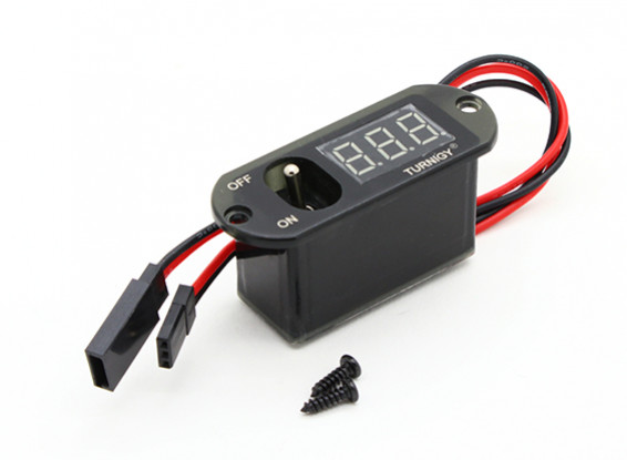 Turnigy Heavy Duty ricevitore Switch / Dispay tensione LED